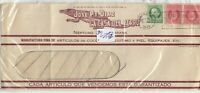 Caribbean 1938Cuba Early Window Commercial Envelope Scarce Postal History J8913