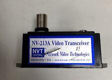 NVT  NV-213A  1 Channel UTP Passive Video Transceiver Used