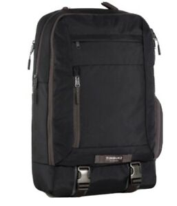 Timbuk2 The Authority Pack Backpack Jet Black BNWT $129 Retail