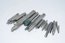 Large Lot of Machinist Tooling Cutting Tools, Countersink End Mills