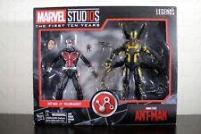 ANT-MAN & YELLOWJACKET Marvel Studios Legends First Ten Years 10th Anniversary