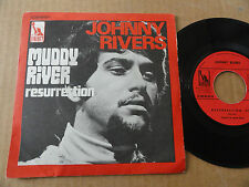 "DISQUE 45T DE JOHNNY RIVERS  "" MUDDY RIVER """
