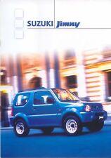 SUZUKI JIMNY 1.3 soft top estate 2000 ORIGINALE UK SALES BROCHURE PUB. NO. 3291