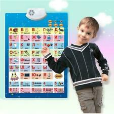 Russian Electronic Music Alphabet Talking Poster Kids Education Toy 58x41.5cm