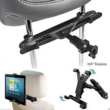 "Universal Headrest Car Seat Holder Mount for iPad 1 2 3 4, Air & 10"" Tablets"