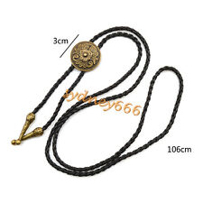 1 Pc Indian Shield Tribe Bolo Tie Necktie Necklace Men's Accessories Gifts New