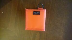 New Yoshida Porter Coin Case Orange or Black