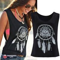 New Summer Sexy Women Ladies Crop Tank Top Vest Sleeveless Casual T Shirt Blouse