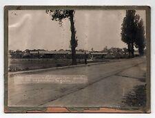 RARE WWII POW CAMP Photograph PHOTO St Sulpice Izon France AMERICAN ARMY Saint