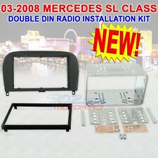 2003 - 2008 MERCEDES BENZ SL CLASS DOUBLE DIN CAR STEREO INSTALLATION DASH KIT