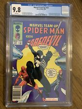 MARVEL TEAM-UP #141 CGC 9.8 WHITE PAGES 1ST BLACK SUIT NEWSSTAND MARVEL 1984 252