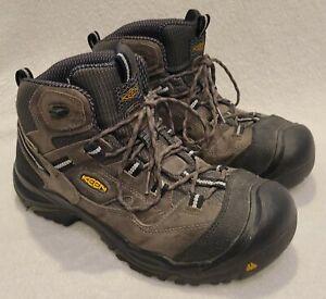Keen Utility Braddock Mid Steel Toe Waterproof Boots SZ 11.5 US - Made in USA