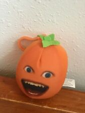 Backpack Hanger Decoration – 3.5 inches Gently Used Angry Orange Making Noises