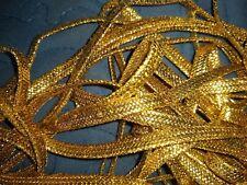 18 Yards Of Antique/Vintage Gold Metallic Cording~Passementerie~Ves tment~France