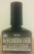 Gunze Sangyo/Mr Hobby Mr Weathering Color WC-02, Ground Brown.