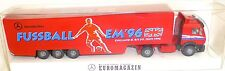 EM'96 MB Transport EUROMAGAZIN CAMION Werbemodell Wiking H0 1:87 # å