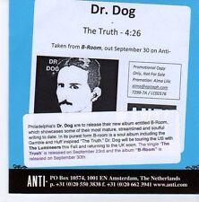 (EB30) Dr Dog, The Truth - 2013 DJ CD