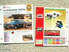 Old DRAG RACING / RACE CAR BROCHURES Collection: NHRA,Chevy,Ford,
