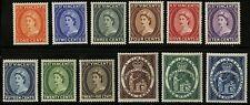 St Vincent   1955  Scott #186-197  Mint Lightly Hinged Set