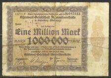 GERMANY (Rosenberg, Eisenwerk) - 1 Million Mark GUTSCHEIN (28-Jul-1923) VG
