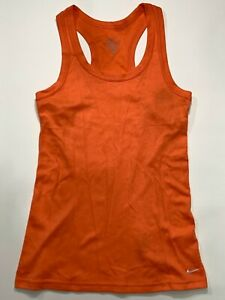 Nike Women's Dri0Fit Traditional Rib Ribbed Training Tank Top~Color 688~Size L