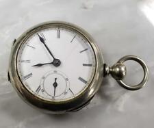 Antique Metropolitan Key Wind Pocket Watch 18s ~ 9-H1394