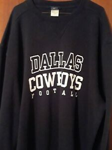 NEW Reebok Dallas Cowboys Crewneck Sweatshirt Men's Size 2XL XXL NEW