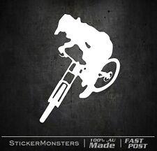 Downhill Trail MTB Sticker Decal 139mmH Mountain bike Car Van Commencal RockShoX