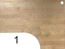 IKEA Galant Ecktischplatte / L - Form 160x80x60x120cm  - Birke gebraucht ...