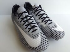NIKE MERCURIAL XI FG ID(872589-991) BLACK/GREY/WHITE  SOCCER CLEATS WMNS.SZ.7