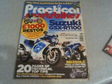 PRACTICAL SPORTSBIKE MAGAZINE. FEBRUARY 2016 ISSUE 64. GSXR1100 RD250LC CRM250