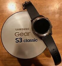 Samsung Galaxy Gear S3 Classic - Stainless Steel - 46mm - VZW 4G LTE - w/Extras