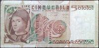 Italy banknote - 5000 cinquemila lire - year 1979 - Antonello da Messina