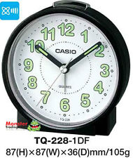 AUSSIE SELLER CASIO ALARM DESK CLOCK TQ-228-1DF TQ-228 TQ228 12 MONTH WARANTY