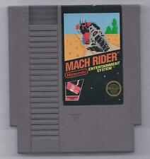 Vintage Nintendo Mach Rider Video Game NES Cartriage VHTF