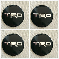 4pcs 56mm TRD TOYOTA  Car Wheel Center Hub Caps Sticker Emblem Badge TRD Racing