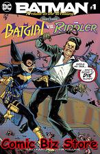 BATMAN PRELUDE TO THE WEDDING BATGIRL VS RIDDLER #1 (2018) 1ST PRINTING DC UNI