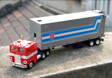 TRANSFORMERS AUTOBOT Optimus Prime tractor to Robot G1 Reissue Free