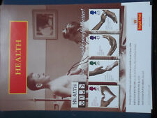 ROYAL MAIL A4 POST OFFICE POSTER 1998 HEALTH NHS DOCTOR