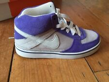 Kids Childrens Boys Girls Nike 6.0 Mavrk mid 2 jr Deep Royal Size UK 12