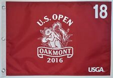 2016 US Open OFFICIAL (Oakmont) Screen Print GOLF FLAG