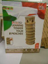Cubicfun 3D Puzzle Torre inclinada de Pisa (Italia) MC053h 30 piezas Jigsaw