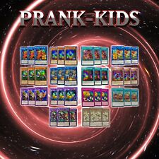 PRANK-KIDS DECK CORE | 42 Cards | HISU & SOFU YuGiOh