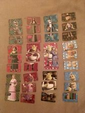 McDonald's Shrek Holiday 2007 Happy Meal Cards - 12 Total