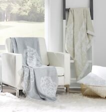 Sferra Lassia Throw - Grey