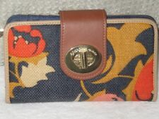 Spartina 449 ladies wallet purse. Linen leather Lovely item REDUCED TO SELL SALE