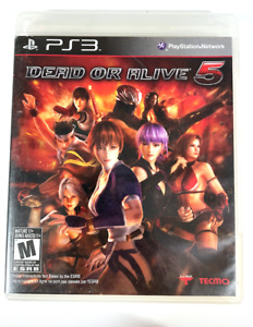 Dead or Alive 5 SONY PLAYSTATION 3 PS3 GAME TESTED ++ WORKING!