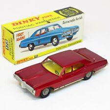 Dinky Toys England - 173 Pontiac Parisienne - Meccano Die Cast Vintage Rare Old