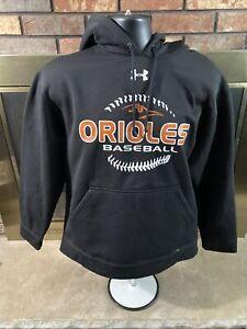 NWT Baltimore Orioles Under Armour MLB Baseball Hooded Sweatshirt Mens Sz Medium