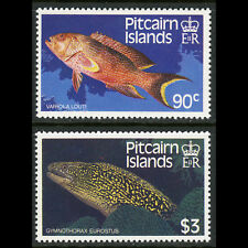 PITCAIRN ISLANDS 1988 Fish. SG 312-313. Mint Never Hinged. (AB864)